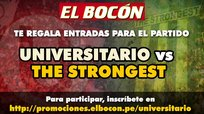 El Bocón te regala entradas para el partido Universitario vs The Strongest