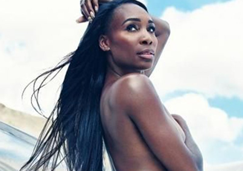 Venus Williams en el desnudo