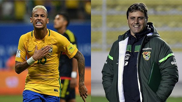 Brasil vs. Bolivia: Neymar y Hoyos se vuelven a encontrar [VIDEO]