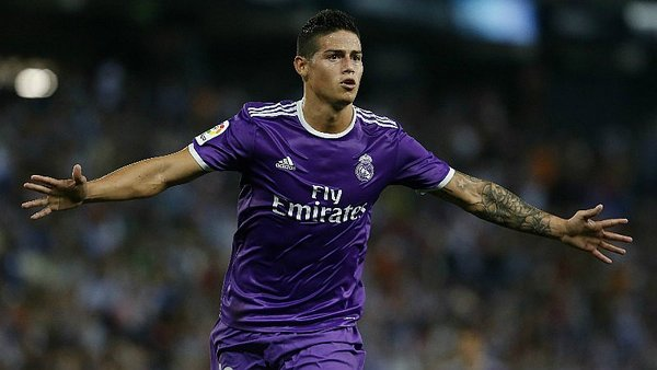 Real Madrid: James Rodríguez vuelve para la Champions League
