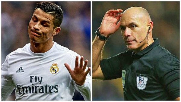 Real Madrid: Howard Webb confiesa incidente con Cristiano Ronaldo