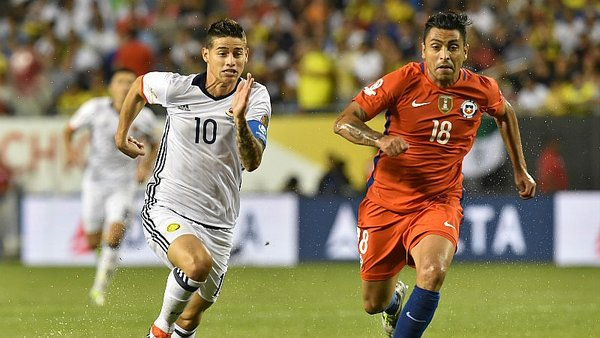 Colombia vs. Chile EN VIVO ONLINE por las Eliminatorias Rusia 2018