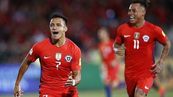 Chile vence 3-1 a Uruguay por las Eliminatorias [VIDEO]