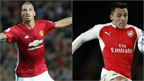 Manchester United vs. Arsenal EN VIVO ONLINE por la Premier League