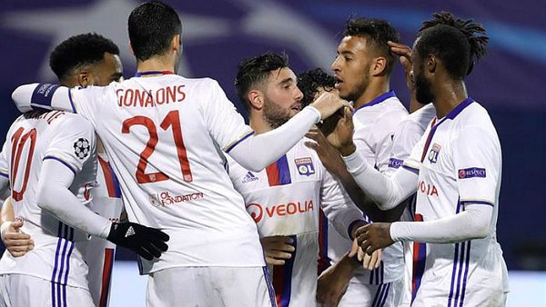 Champions League: Lyon no se rinde y vence a Dinamo Zagreb [VIDEO]
