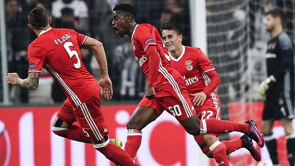 Champions League: André Carrillo en el Besiktas vs Benfica EN VIVO / Foto: twitter