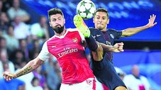 Arsenal 2-2 PSG EN VIVO ONLINE por la Champions League