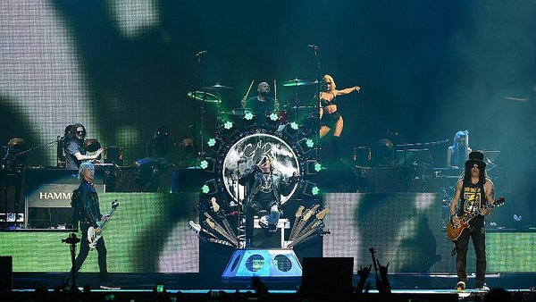 Chapecoense: Guns N' Roses se unió al homenaje [VIDEO]