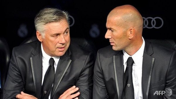 Real Madrid vs. Bayern Munich: Zinedine Zidane vs. Carlo Ancelotti