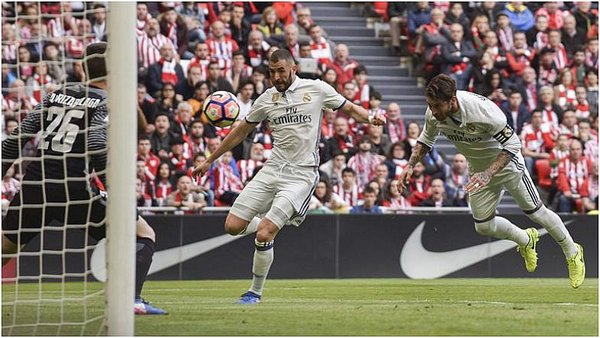 Real Madrid: CR7 para Benzema y gol del Madrid en San Mamés [VIDEO]