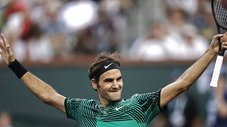Roger Federer a la final del Indian Wells tras vencer a Jack Sock [VIDEO]