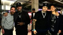 Barcelona. Nicky Jam hace gozar a Neymar y Lionel Messi (FOTOS y VIDEO)