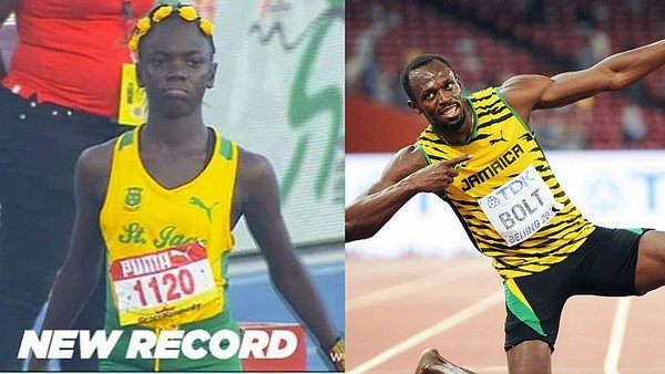 Atletismo: Reinado de Bolt se ve amenazado por niña de 12 años [VIDEO]