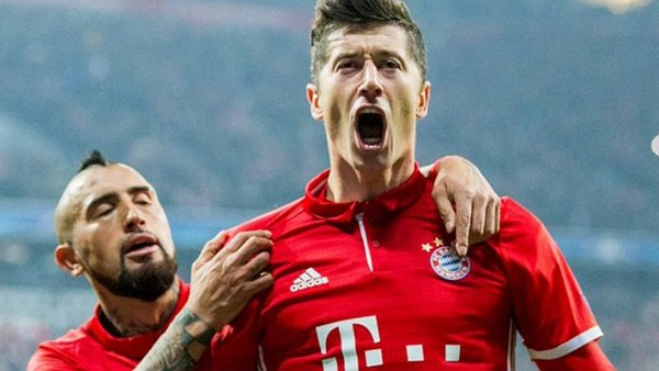 Real Madrid vs. Bayern Múnich: Lewandowski marcó de penal [VIDEO]