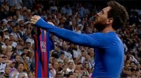Barcelona vence en el final a Real Madrid con gol de Lionel Messi