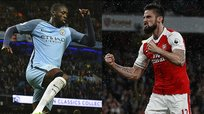 Manchester City y Arsenal mantienen su lucha por la Champions League