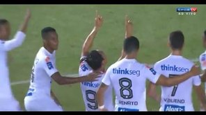 Santos vs. Sporting Cristal: grosero error de Viana en segundo gol [VIDEO]