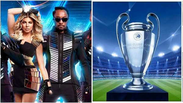 The Black Eyed Peas cantará en la final de Champions League / Foto: twitter