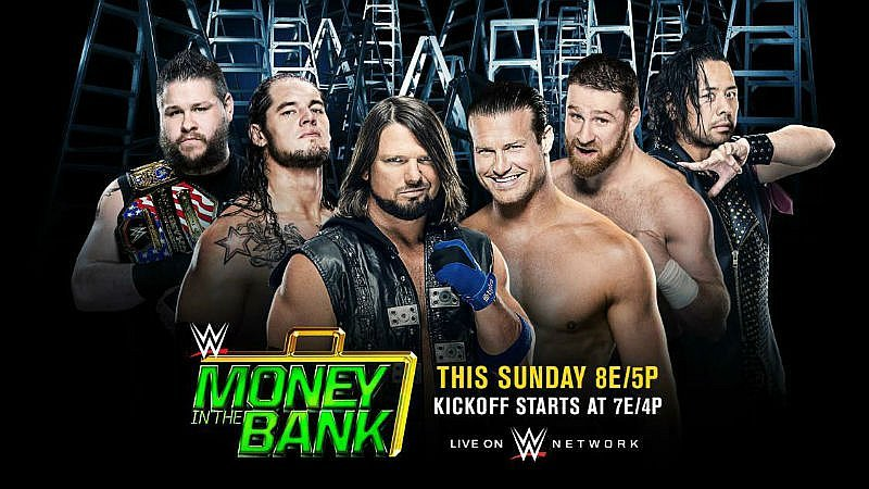 WWE: Éstas son las peleas del 'Money in the Bank 2017' de mañana