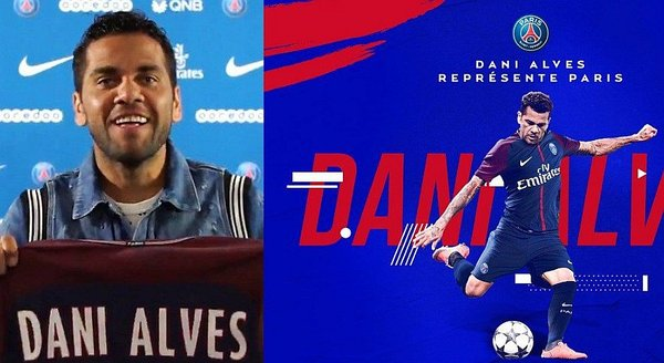 PSG presentó a Dani Alves con divertido video / Foto: twitter