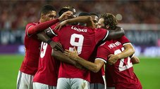 Manchester United se impuso 2-0 al Manchester City por la International Champions Cup