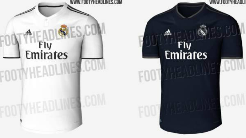 264ba3cd11cd8 Real Madrid  se filtraron los uniformes para la temporada 2018-19 ...