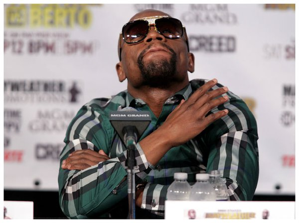 Acusan a Floyd Mayweather de doparse para pelear con Manny Pacquiao