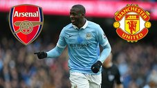 Arsenal y Manchester United interesados en Yaya Touré