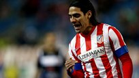 Atlético de Madrid gana y Radamel Falcao se lesiona [VIDEO]