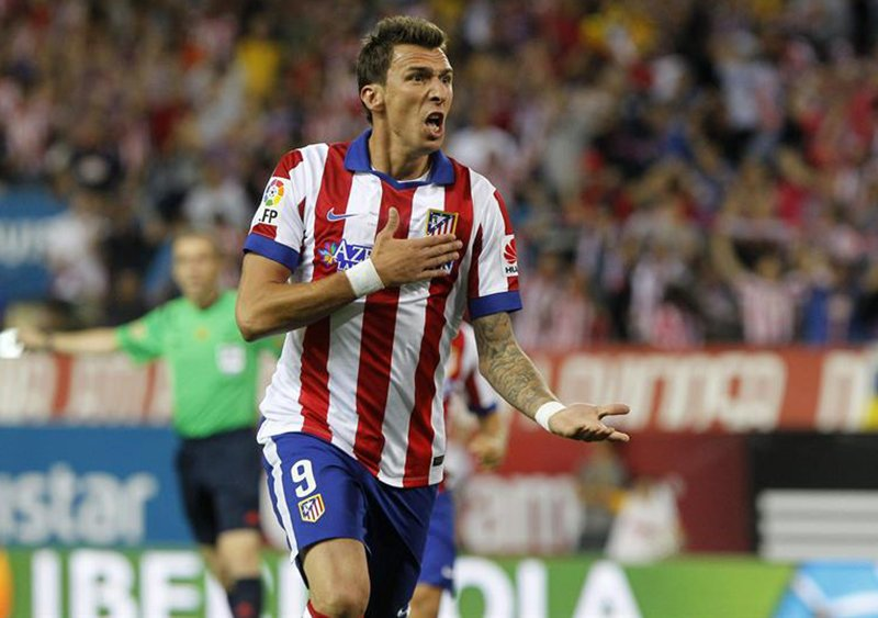 Atlético Madrid vs Real Madrid: Gol de Mandzukic para abrir el marcador [VIDEO]