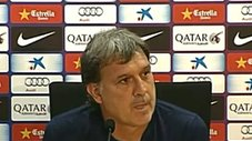 Barcelona: Gerardo Martino destacó las armas del Atlético Madrid [VIDEO]