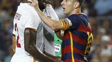 Barcelona: Lionel Messi enfurece con Mapou Yanga [VIDEO]