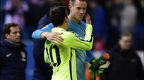 Bayern Munich vs Barcelona: Ter Stegen y su gran atajada  - Champions League [VIDEO]