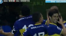 Boca Juniors vs River Plate: Mira el golazo de Juan Román Riquelme [VIDEO]