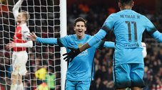 Champions League: Barcelona se pasea con Arsenal en Londres [VIDEO]
