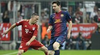 Champions League: Franck Ribery humilló a Lionel Messi al estilo Boateng [VIDEO]