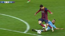 Champions League: Fue penal a Lionel Messi? [VIDEO]