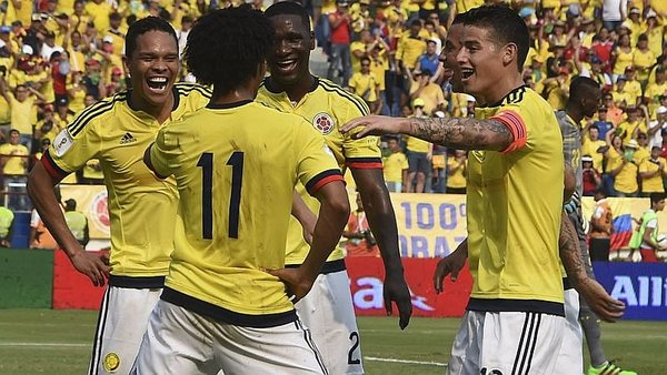 Colombia vence 3-1 Ecuador en Barranquilla por Eliminatorias [VIDEO]