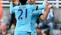 Con gol de Aguero, Manchester City venció 2-0 en su visita a Newcastle [VIDEO]
