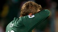El blooper de Robert Green