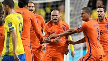 Eliminatorias Europea: Holanda iguala de visita con Suecia [VIDEO]