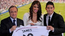 ​Esposa de James Rodríguez también debutó con Real Madrid [VIDEO]
