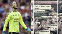 ​Estos WhatsApp implican a De Gea en escándalo sexual [FOTOS]