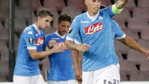 ​Europa League: Napoli goleó 5-0 a las Brujas [VIDEO]