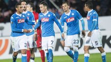 Europa League: Napoli venció 4-1 al Midtjylland en Dinamarca [VIDEO]