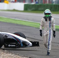 Fórmula 1: Felipe Massa sufrió accidente durante el GP de Alemania [FOTOS]