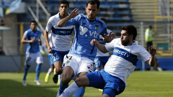 O Higgins vs. Universidad Católica. (Foto: Internet)