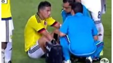 James Rodríguez: así se lesionó ante Carlos Zambrano [VIDEO]