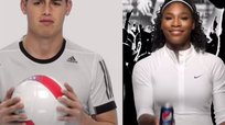 James Rodríguez y Serena Williams protagonizan espectacular comercial [VIDEO]