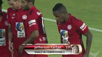 Jefferson Farfán anotó en triunfo de Al Jazira sobre el Sharjah [VIDEO]